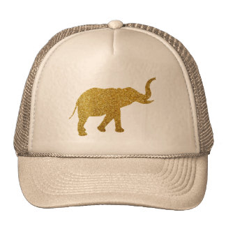 Golden Trumpeting Elephant Cap