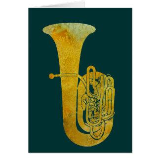 Golden Tuba Card