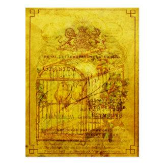 Golden Tweets Postcard