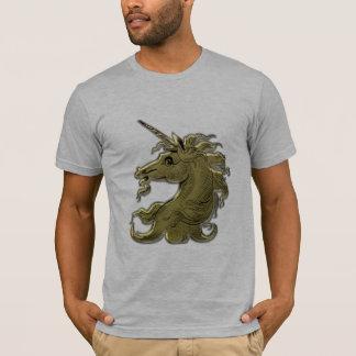 Golden unicorn basic T-shirt