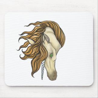 golden unicorn buckskin mouse pad