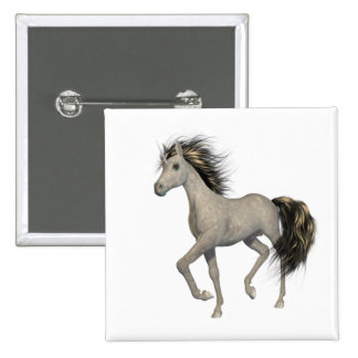 Golden Unicorn  Button