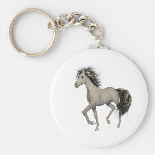 Golden Unicorn  Keychain