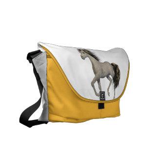 Golden Unicorn Messenger Bag