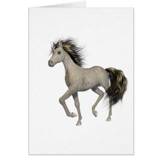 Golden Unicorn  Note Card