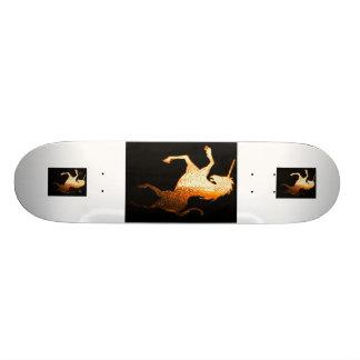 Golden Unicorn Custom Skate Board