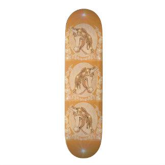 Golden Unicorn 21.3 Cm Mini Skateboard Deck