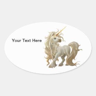 Golden Unicorn Sticker
