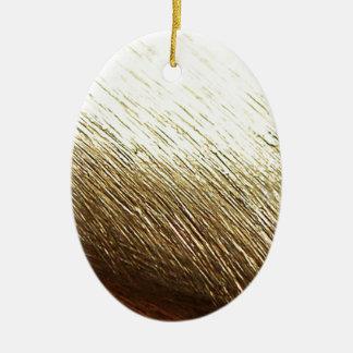 Golden Vermeil Christmas Ornament