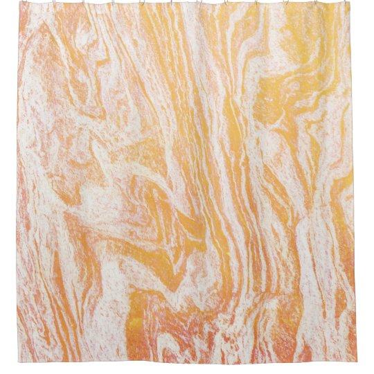 Golden Vibes Shower Curtain