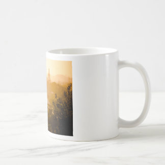 Golden View from Jing Shan Basic White Mug