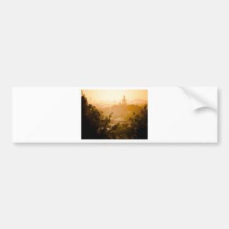 Golden View from Jing Shan Bumper Sticker