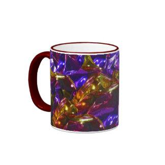 Golden Violet Mug