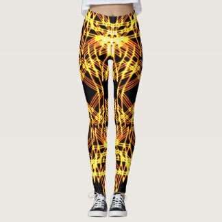 Golden Vision Mandala Leggings
