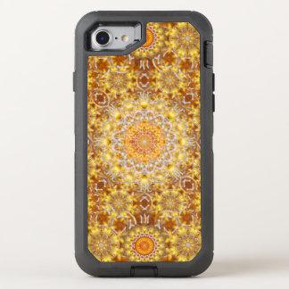 Golden Visions Mandala OtterBox Defender iPhone 7 Case
