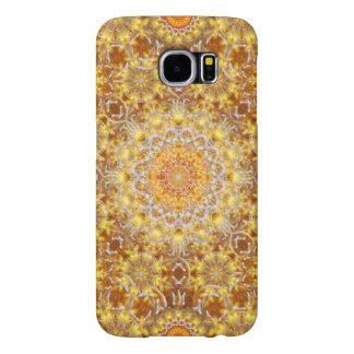Golden Visions Mandala Samsung Galaxy S6 Cases