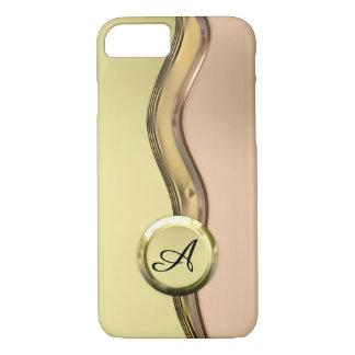 Golden Waves iPhone 8/7 Case