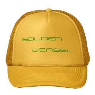GOLDEN WEASEL HAT