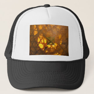 Golden Weave Trucker Hat