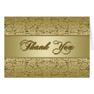 Golden Wedding Anniversary Thank You Card