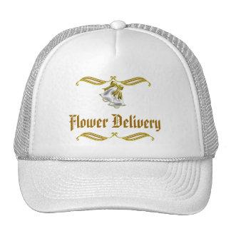 Golden Wedding Mesh Hats