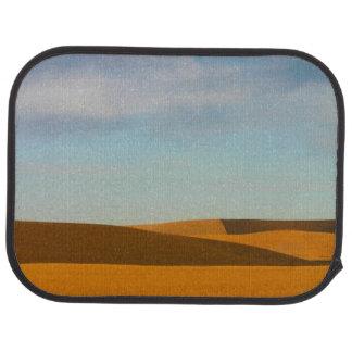 Golden Wheat Fields in Palouse Region Car Mat