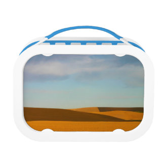 Golden Wheat Fields in Palouse Region Lunch Box
