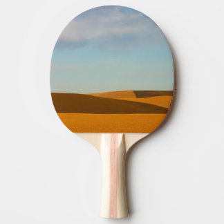 Golden Wheat Fields in Palouse Region Ping Pong Paddle