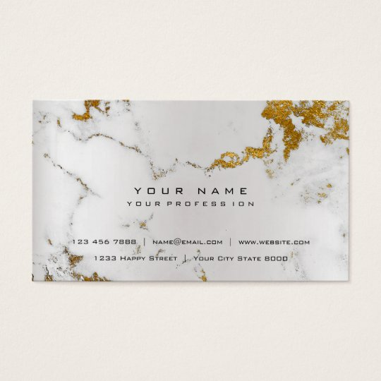 Golden White Gray Marble Vip Pearly Silver Business