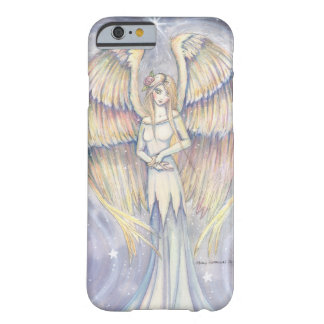 Golden Wing Angel Fantasy Art iPhone 6 case
