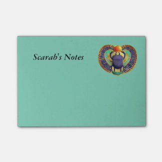 Golden Winged Scarab Post-it Notes