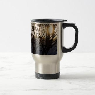 Golden Winter Glow Mug