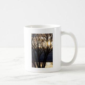 Golden Winter Glow Mugs