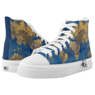 Golden World High Tops