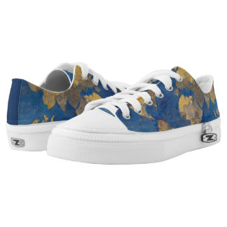 Golden World Low Tops