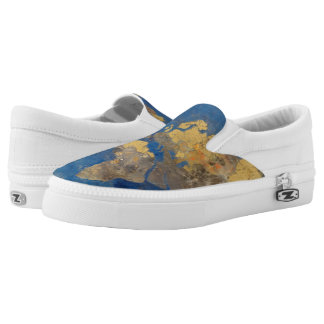 Golden World Slip-On Shoes