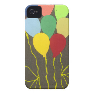 Golden Yellow Birthday iPhone 4 Cases