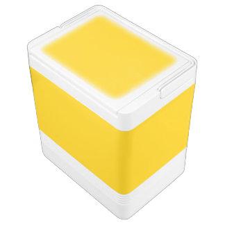 Golden Yellow Igloo Cooler