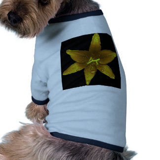 Golden Yellow Lily Doggie T-shirt