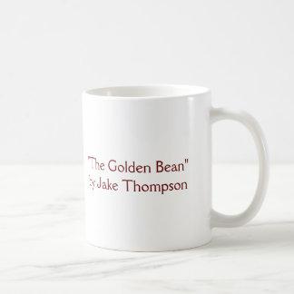 """GoldenBean, """"The Golden Bean""""by Jake Thompson Basic White Mug"""