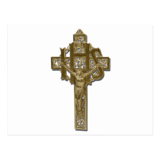 GoldenCrucifixStraightOn042112.png Postcard