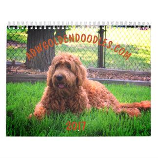 Goldendoodle Calendar