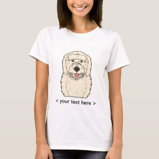 Goldendoodle Cartoon Personalized T-Shirt