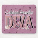 GoldenDoodle DIVA Mousemat