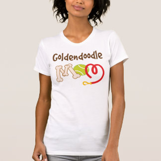 Goldendoodle Dog Breed Mom Gift T-Shirt
