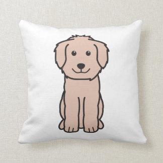 Goldendoodle Dog Cartoon Cushion