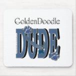 GoldenDoodle DUDE Mouse Mats