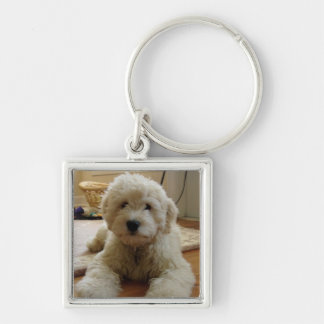 Goldendoodle Keychain