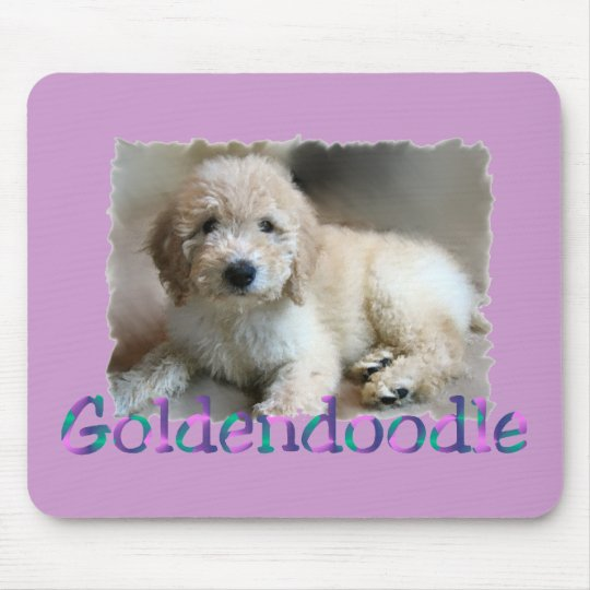 Goldendoodle Lovers Gifts Mouse Mat