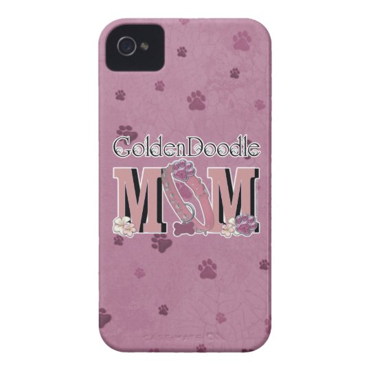 GoldenDoodle MOM iPhone 4 Case-Mate Case